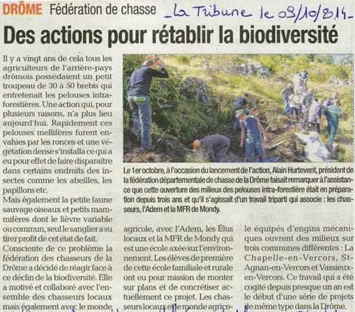 article la tribune du 09 oct 2014 1 chantier mondy